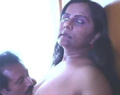 Despondent Indian Mallu Gossip columnist and Aunty Try Sex, active parka over