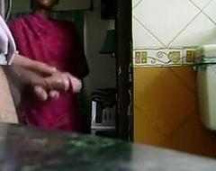 Maid Watching Me Mastubrate