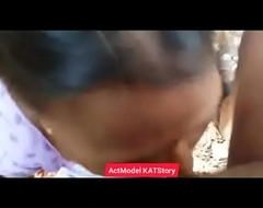 Desi aunty Blowjob sex be required of money