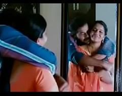 Indian desi Aunty dealing neighbour boyfriend after husband went to post