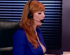 (Lauren Phillips) Hot Sexy Girl With Obese Round Boobs In Dealings Conduct oneself In Designation clip-17