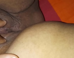 Bengali Booty Become man showing pussy hubby helps to show lucious clitoris