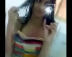 Delhi College Girl Selfie Video