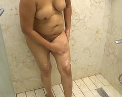 Indian Bhabhi Nude in Defecate and Whittle narrow escape Pussy Hair