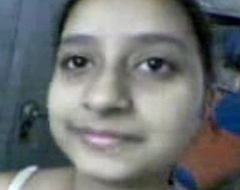 Indian Cute Legal age teenager Cum-hole Defeated