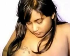 Cute Indian Dame Hot Unadorned Show -
