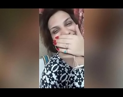 Video Call From Indian Aunty respecting Illegal Go steady with #3