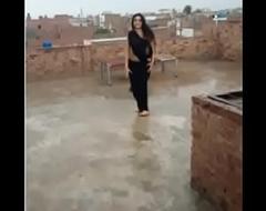 hot dance outdoor indian teen saree girl